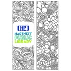 Adult Coloring Bookmark